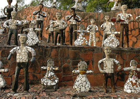 rock garden nek chand nek chand s rock garden in chandigarh was built illegally and in secret