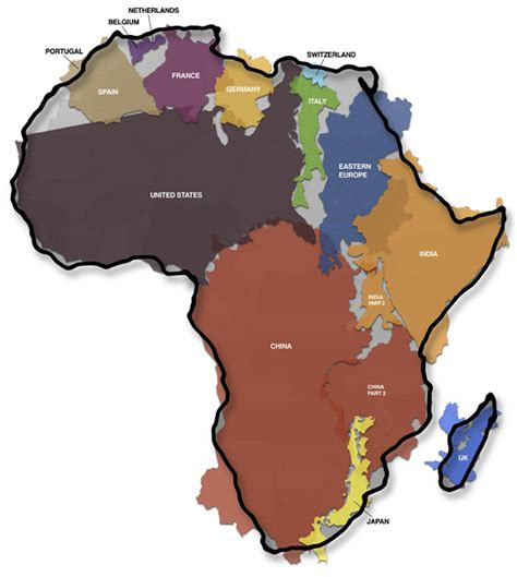 africa map indian the true size of africa india the u s most of