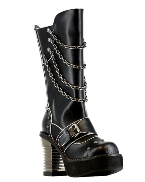 Kickers Warrior Leather Black Murah 91 best blingin boots for the biker images on