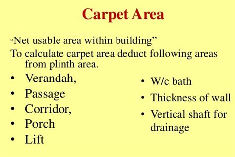 How To Measure A Floor by Your Real Estate What Is Carpet Area The Wave