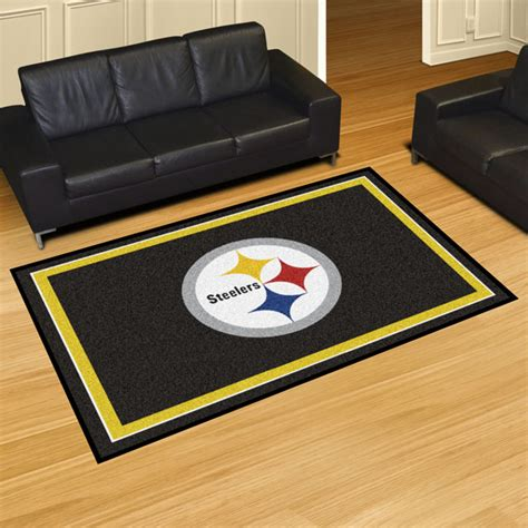 Area Rugs Pittsburgh Pittsburgh Steelers Area Rugs Nfl Logo Mats