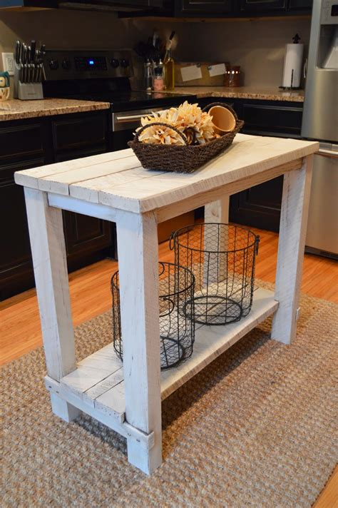 reclaimed kitchen islands 15 gorgeous diy kitchen islands for every budget