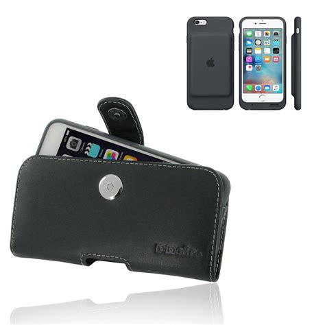 iphone 6 6s in official smart battery leather holster pdair