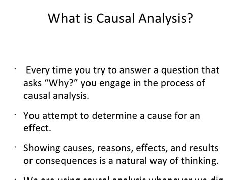 causal analysis essay sle the causal analysis essay