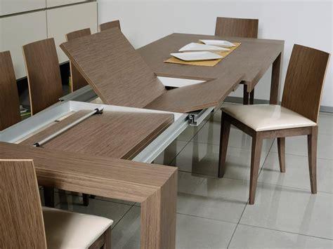 tavoli per sala da pranzo moderni tavolo allungabile rettangolare per sala da pranzo