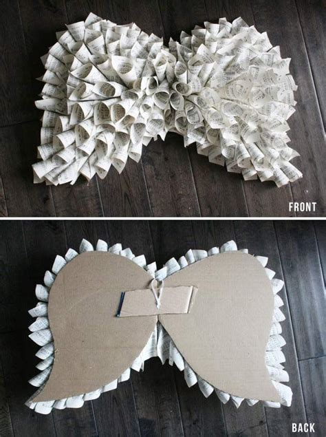 How To Make Paper Wings For A Costume - 25 best ideas about diy wings on