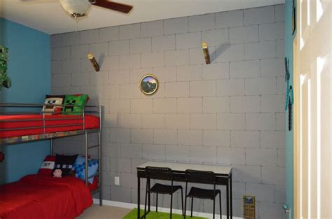 minecraft theme bedroom pictures of my boys bedroom i made it over in a