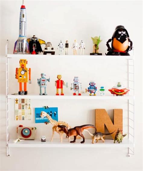 Toys On A Shelf by Cool String Shelf For Favorite Toys Kidsomania