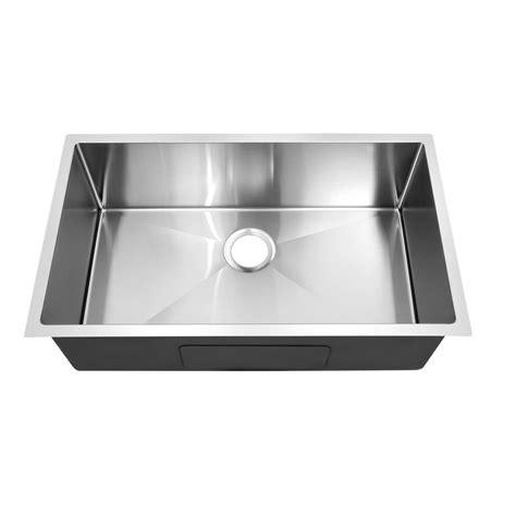 y decor hardy single bowl kitchen sink