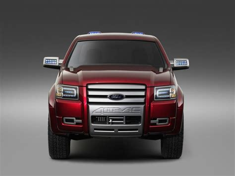 ford  trac concept truck  ranger station