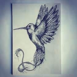 hummingbird tattoo sketch drawing tattoo ideas by