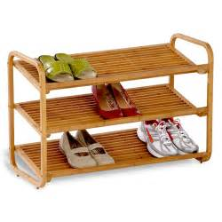 bamboo shoe rack 3 tier in shoe racks