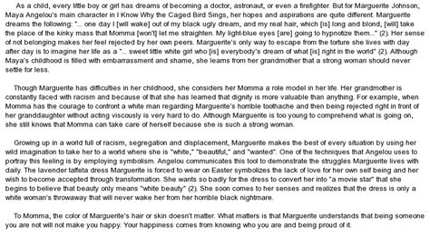 Angelou Graduation Essay by Angelou S I Why The Caged Bird Sings At Essaypedia