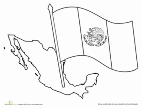 mexican flag worksheet education com