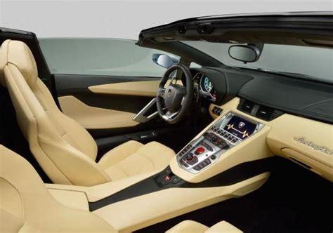 lamborghini aventador interni foto lamborghini aventador lp 700 4 roadster interni