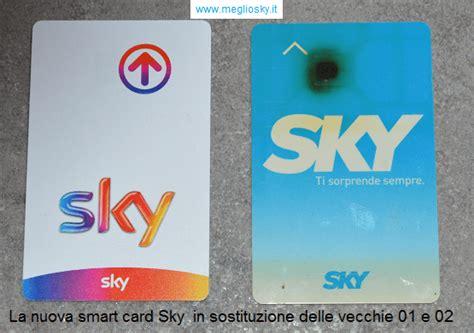 sky multivision in due diverse e arrivata la nuova smart card sky meglio sky