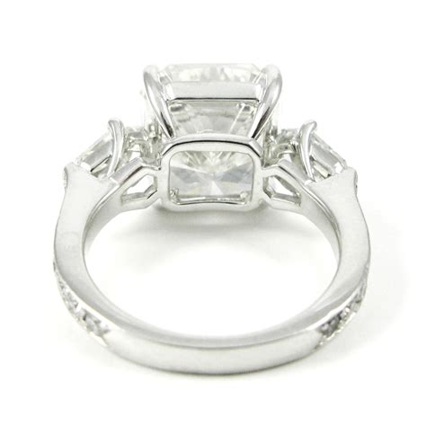 8 38 carat radiant cut platinum ring world s best