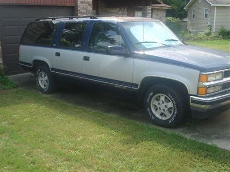 how things work cars 1994 gmc suburban 1500 electronic valve timing purchase used 1994 chevrolet suburban 1500 dependable fixer upper flip vehicle in dothan