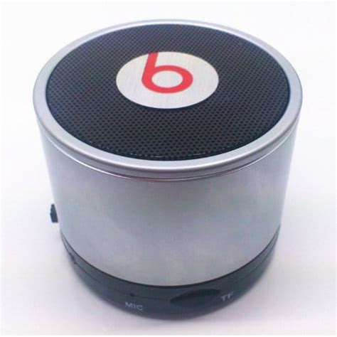 Speaker Bluetooth Beats Mini Kerang Aphdc picture of beats wireless mini bluetooth speaker support phone call and tf card gray
