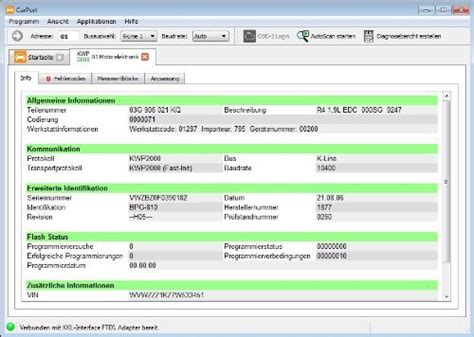 carport aktivierungscode autodia k409 mit carport software vollversion de