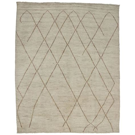 Modern Design Area Rugs Contemporary Moroccan Area Rug With Modern Design For Sale At 1stdibs