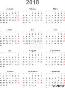 Kalender 2o18 Quot Kalender 2018 Quot Stockfotos Und Lizenzfreie Vektoren Auf