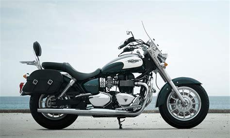 Motorrad Verkauf Nach England by Triumph America Modellnews