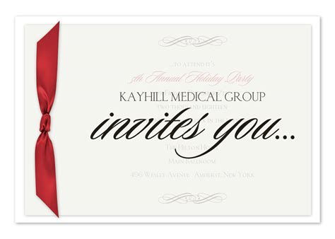 touch of elegance corporate invitations by invitation