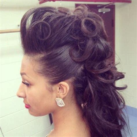 feminine mohawks female mohawk hair beauty that i love pinterest