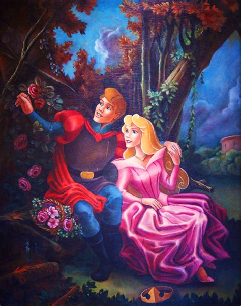 painting of disney princess disney princess images and phillip painting