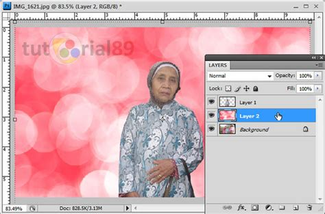tutorial photoshop mengganti background cara mengganti background foto di photoshop tutorial89