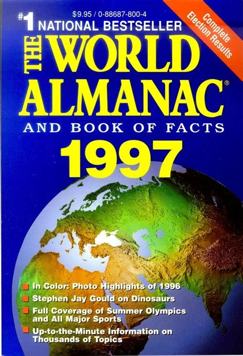 the world almanac and book of facts 2018 books the world almanac and book of facts 1997 1980 present