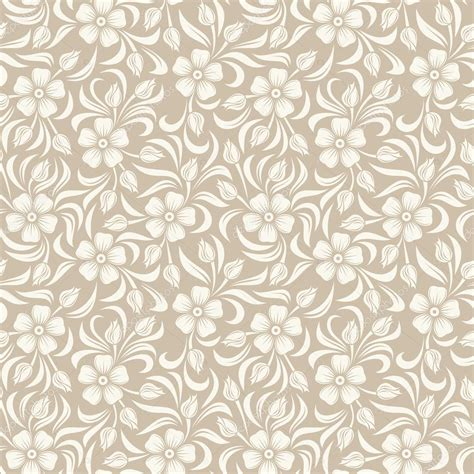pattern retro vector seamless vintage floral pattern vector illustration