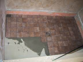 basement ceiling leak part 18 shower floor tile