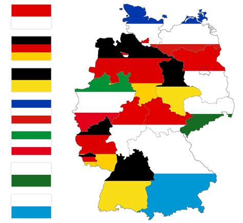map of germany with states heraldry of german states the dialogue