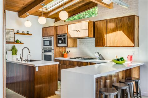 Houzz Kitchen Faucets by 1951 Mid Century Modern Home Remodel Before Amp After
