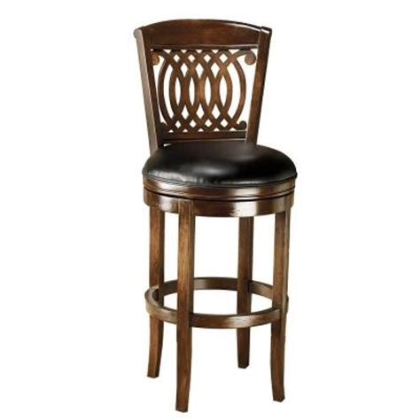 Window Stool Home Depot by Hillsdale Furniture Vienna Swivel Bar Stool Discontinued 60956 At The Home Depot