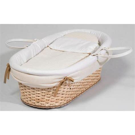 materassino vimini cesta neonato portaenfant in vimini con materassino colore
