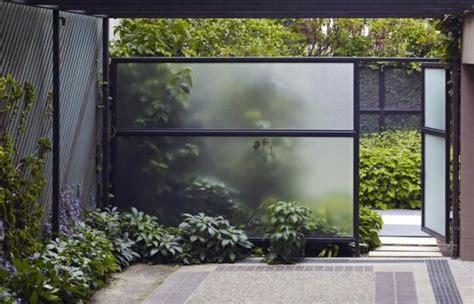 garten überdachung glas trennwand garten glas usblife info