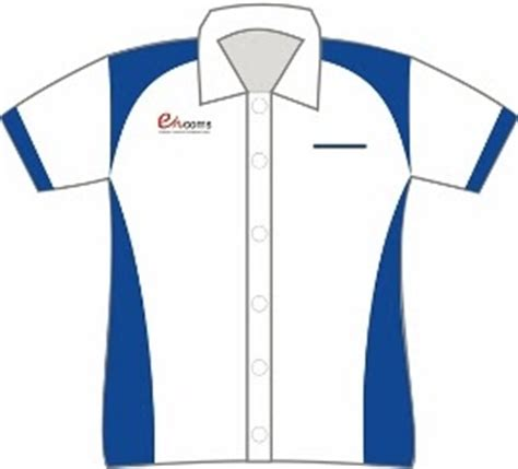 desain baju seragam kerja konveksi bordir komputer terbesar di kota padang desain