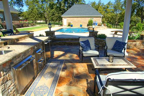 backyard living pools outdoor living mid state pools