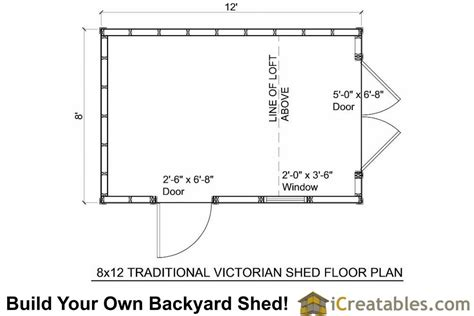 floor plans storage sheds 8x12 traditional victorian backyard shed plans icreatables com