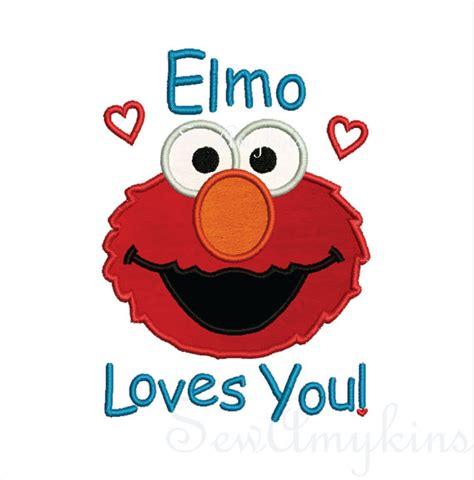 the impact elmo loves you face
