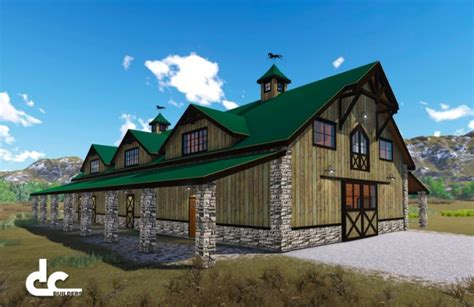 Post And Beam House Plans Floor Plans 8 Great Barndominium Plans Around The World