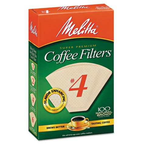 Promo Cafec Abaca Cone Coffee Brown Paper Filter Ac1 100b bettymills melitta 174 basket style coffee filters melitta