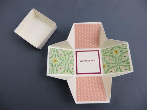 kleine box basteln stin up pop up box stempelfreundin seite 2