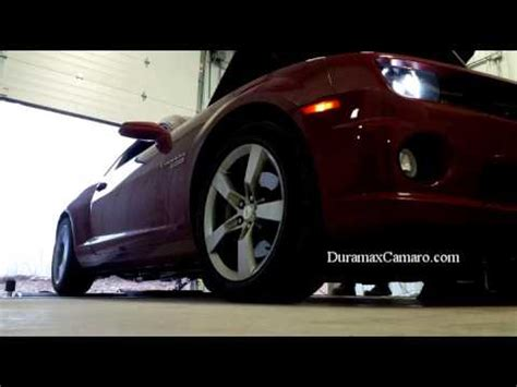 the duramax camaro and cummins charger take to the stre