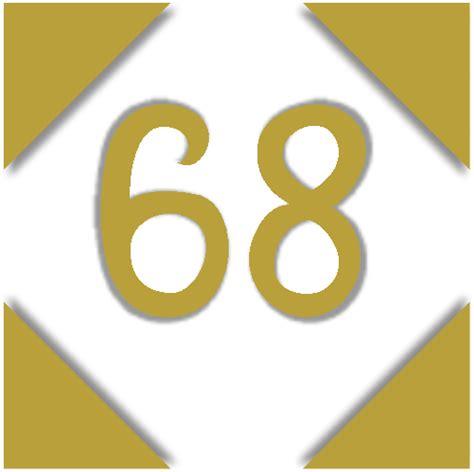 Or Number Numbers Number 68