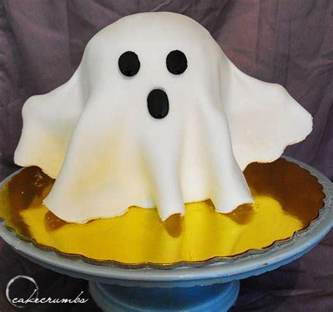 halloween ghost cake by cakecrumbs on deviantart