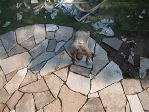 best 25 how to lay flagstone ideas on pinterest